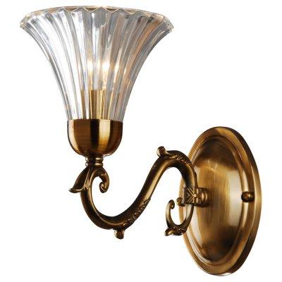 Светильник настенный Arte lamp A9440AP-1RB LancasterРустика<br><br><br>S освещ. до, м2: 4<br>Крепление: пластина<br>Тип лампы: накаливания / энергосбережения / LED-светодиодная<br>Тип цоколя: E14<br>Цвет арматуры: бронзовый<br>Количество ламп: 1<br>Ширина, мм: 270<br>Диаметр, мм мм: 150<br>Длина, мм: 270<br>Высота, мм: 230<br>MAX мощность ламп, Вт: 60