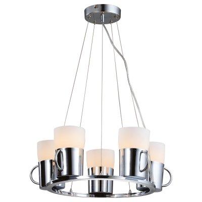 Люстра Arte lamp A9484SP-5CC BrooklynПодвесные<br>Компания «Светодом» предлагает широкий ассортимент люстр от известных производителей. Представленные в нашем каталоге товары выполнены из современных материалов и обладают отличным качеством. Благодаря широкому ассортименту Вы сможете найти у нас люстру под любой интерьер. Мы предлагаем как классические варианты, так и современные модели, отличающиеся лаконичностью и простотой форм. <br>Стильная люстра Arte lamp A9484SP-5CC станет украшением любого дома. Эта модель от известного производителя не оставит равнодушным ценителей красивых и оригинальных предметов интерьера. Люстра Arte lamp A9484SP-5CC обеспечит равномерное распределение света по всей комнате. При выборе обратите внимание на характеристики, позволяющие приобрести наиболее подходящую модель. <br>Купить понравившуюся люстру по доступной цене Вы можете в интернет-магазине «Светодом».<br><br>Установка на натяжной потолок: Да<br>S освещ. до, м2: 14<br>Крепление: Планка<br>Тип лампы: накаливания / энергосбережения / LED-светодиодная<br>Тип цоколя: E27<br>Количество ламп: 5<br>Ширина, мм: 480<br>MAX мощность ламп, Вт: 40<br>Диаметр, мм мм: 480<br>Длина цепи/провода, мм: 880<br>Высота, мм: 170<br>Цвет арматуры: серебристый хром