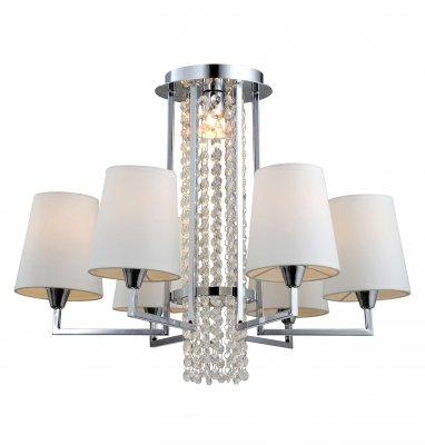 Люстра Arte lamp A9490PL-6-1CC PadovaПотолочные<br>Компания «Светодом» предлагает широкий ассортимент люстр от известных производителей. Представленные в нашем каталоге товары выполнены из современных материалов и обладают отличным качеством. Благодаря широкому ассортименту Вы сможете найти у нас люстру под любой интерьер. Мы предлагаем как классические варианты, так и современные модели, отличающиеся лаконичностью и простотой форм.  Стильная люстра Arte lamp A9490PL-6-1CC станет украшением любого дома. Эта модель от известного производителя не оставит равнодушным ценителей красивых и оригинальных предметов интерьера. Люстра Arte lamp A9490PL-6-1CC обеспечит равномерное распределение света по всей комнате. При выборе обратите внимание на характеристики, позволяющие приобрести наиболее подходящую модель. Купить понравившуюся люстру по доступной цене Вы можете в интернет-магазине «Светодом».<br><br>Установка на натяжной потолок: Да<br>S освещ. до, м2: 24<br>Крепление: Планка<br>Тип лампы: накаливания / энергосбережения / LED-светодиодная<br>Тип цоколя: E14/GU10<br>Количество ламп: 7<br>Ширина, мм: 620<br>MAX мощность ламп, Вт: 50<br>Диаметр, мм мм: 620<br>Высота, мм: 410<br>Цвет арматуры: серебристый хром