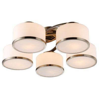 Люстра Arte lamp A9495PL-5AB ManhattanПотолочные<br>Компания «Светодом» предлагает широкий ассортимент люстр от известных производителей. Представленные в нашем каталоге товары выполнены из современных материалов и обладают отличным качеством. Благодаря широкому ассортименту Вы сможете найти у нас люстру под любой интерьер. Мы предлагаем как классические варианты, так и современные модели, отличающиеся лаконичностью и простотой форм.  Стильная люстра Arte lamp A9495PL-5AB станет украшением любого дома. Эта модель от известного производителя не оставит равнодушным ценителей красивых и оригинальных предметов интерьера. Люстра Arte lamp A9495PL-5AB обеспечит равномерное распределение света по всей комнате. При выборе обратите внимание на характеристики, позволяющие приобрести наиболее подходящую модель. Купить понравившуюся люстру по доступной цене Вы можете в интернет-магазине «Светодом».<br><br>Установка на натяжной потолок: Да<br>S освещ. до, м2: 14<br>Крепление: Планка<br>Тип лампы: накаливания / энергосбережения / LED-светодиодная<br>Тип цоколя: E27<br>Количество ламп: 5<br>Ширина, мм: 680<br>MAX мощность ламп, Вт: 40<br>Диаметр, мм мм: 680<br>Высота, мм: 220<br>Цвет арматуры: бронзовый
