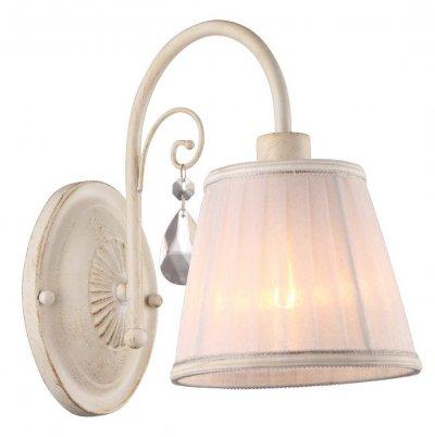 Светильник Arte lamp A9515AP-1WG AlexiaКлассические<br><br><br>Тип цоколя: E14<br>Количество ламп: 1<br>Ширина, мм: 140<br>Длина, мм: 260<br>Высота, мм: 240<br>MAX мощность ламп, Вт: 40