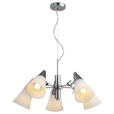Люстра Arte lamp A9517LM-5CC BrooklynПоворотные<br>Компания «Светодом» предлагает широкий ассортимент люстр от известных производителей. Представленные в нашем каталоге товары выполнены из современных материалов и обладают отличным качеством. Благодаря широкому ассортименту Вы сможете найти у нас люстру под любой интерьер. Мы предлагаем как классические варианты, так и современные модели, отличающиеся лаконичностью и простотой форм.  Стильная люстра Arte lamp A9517LM-5CC станет украшением любого дома. Эта модель от известного производителя не оставит равнодушным ценителей красивых и оригинальных предметов интерьера. Люстра Arte lamp A9517LM-5CC обеспечит равномерное распределение света по всей комнате. При выборе обратите внимание на характеристики, позволяющие приобрести наиболее подходящую модель. Купить понравившуюся люстру по доступной цене Вы можете в интернет-магазине «Светодом». Мы предлагаем доставку не только по Москве и Екатеринбурге, но и по всей России.<br><br>Установка на натяжной потолок: Да<br>S освещ. до, м2: 20<br>Крепление: Планка<br>Тип товара: Люстра<br>Тип лампы: накаливания / энергосбережения / LED-светодиодная<br>Тип цоколя: E14<br>Количество ламп: 5<br>Ширина, мм: 620<br>MAX мощность ламп, Вт: 60<br>Диаметр, мм мм: 620<br>Длина цепи/провода, мм: 910<br>Высота, мм: 290
