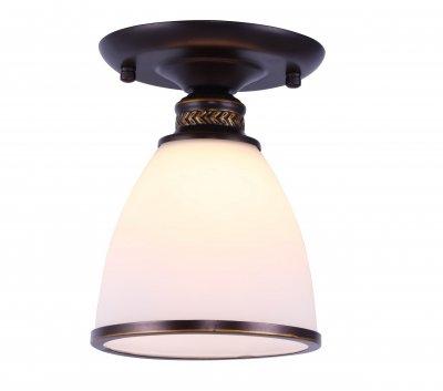 Светильник потолочный Arte lamp A9518PL-1BA Bonitoпотолочные светильники<br>Светильник потолочный Arte lamp A9518PL-1BA Bonito сделает Ваш интерьер современным, стильным и запоминающимся! Наиболее функционально и эстетически привлекательно модель будет смотреться в гостиной, зале, холле или другой комнате. А в комплекте с люстрой и торшером из этой же коллекции, сделает помещение по-дизайнерски профессиональным и законченным.