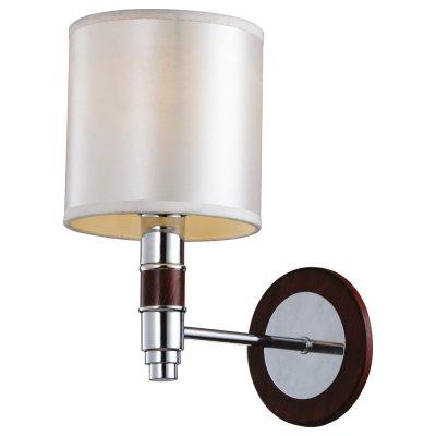 Настенный бра Arte lamp A9519AP-1BR CircoloСовременные<br><br><br>S освещ. до, м2: 3<br>Тип лампы: накаливания / энергосбережения / LED-светодиодная<br>Тип цоколя: E14<br>Количество ламп: 1<br>Ширина, мм: 160<br>Диаметр, мм мм: 220<br>Высота, мм: 280<br>MAX мощность ламп, Вт: 40