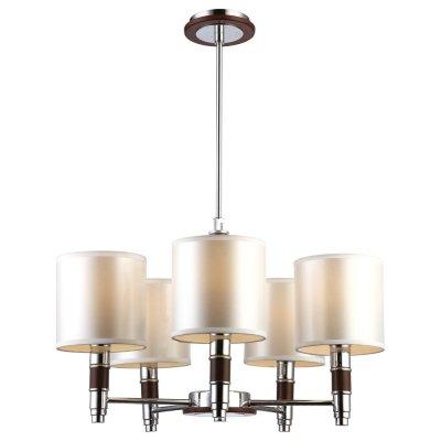 Люстра Arte lamp A9519LM-5BR CircoloПодвесные<br>Компания «Светодом» предлагает широкий ассортимент люстр от известных производителей. Представленные в нашем каталоге товары выполнены из современных материалов и обладают отличным качеством. Благодаря широкому ассортименту Вы сможете найти у нас люстру под любой интерьер. Мы предлагаем как классические варианты, так и современные модели, отличающиеся лаконичностью и простотой форм.  Стильная люстра Arte lamp A9519LM-5BR станет украшением любого дома. Эта модель от известного производителя не оставит равнодушным ценителей красивых и оригинальных предметов интерьера. Люстра Arte lamp A9519LM-5BR обеспечит равномерное распределение света по всей комнате. При выборе обратите внимание на характеристики, позволяющие приобрести наиболее подходящую модель. Купить понравившуюся люстру по доступной цене Вы можете в интернет-магазине «Светодом».<br><br>Установка на натяжной потолок: Да<br>S освещ. до, м2: 14<br>Крепление: Планка<br>Тип лампы: накаливания / энергосбережения / LED-светодиодная<br>Тип цоколя: E14<br>Количество ламп: 5<br>Ширина, мм: 550<br>MAX мощность ламп, Вт: 40<br>Диаметр, мм мм: 550<br>Длина цепи/провода, мм: 150 - 400<br>Высота, мм: 320