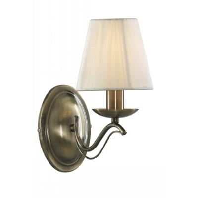 Светильник бра Arte lamp A9521AP-1AB DamainРустика<br><br><br>S освещ. до, м2: 3<br>Тип товара: Светильник настенный бра<br>Тип лампы: накаливания / энергосбережения / LED-светодиодная<br>Тип цоколя: E14<br>Количество ламп: 1<br>Ширина, мм: 130<br>MAX мощность ламп, Вт: 40<br>Диаметр, мм мм: 230<br>Расстояние от стены, мм: 230<br>Высота, мм: 270<br>Цвет арматуры: бронзовый