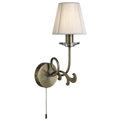 Светильник Arte lamp A9531AP-1AB LizzyСовременные<br><br><br>Тип цоколя: E14<br>Количество ламп: 1<br>Ширина, мм: 130<br>Длина, мм: 180<br>Высота, мм: 330<br>MAX мощность ламп, Вт: 40