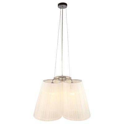 Люстра Arte lamp A9533LM-3SS ParalumeПодвесные<br>Компания «Светодом» предлагает широкий ассортимент люстр от известных производителей. Представленные в нашем каталоге товары выполнены из современных материалов и обладают отличным качеством. Благодаря широкому ассортименту Вы сможете найти у нас люстру под любой интерьер. Мы предлагаем как классические варианты, так и современные модели, отличающиеся лаконичностью и простотой форм.  Стильная люстра Arte lamp A9533LM-3SS станет украшением любого дома. Эта модель от известного производителя не оставит равнодушным ценителей красивых и оригинальных предметов интерьера. Люстра Arte lamp A9533LM-3SS обеспечит равномерное распределение света по всей комнате. При выборе обратите внимание на характеристики, позволяющие приобрести наиболее подходящую модель. Купить понравившуюся люстру по доступной цене Вы можете в интернет-магазине «Светодом».<br><br>Установка на натяжной потолок: Да<br>S освещ. до, м2: 8<br>Крепление: Планка<br>Тип лампы: накаливания / энергосбережения / LED-светодиодная<br>Тип цоколя: E27<br>Цвет арматуры: серебристый<br>Количество ламп: 3<br>Ширина, мм: 500<br>Диаметр, мм мм: 500<br>Длина цепи/провода, мм: 900 - 1000<br>Высота, мм: 400<br>MAX мощность ламп, Вт: 40