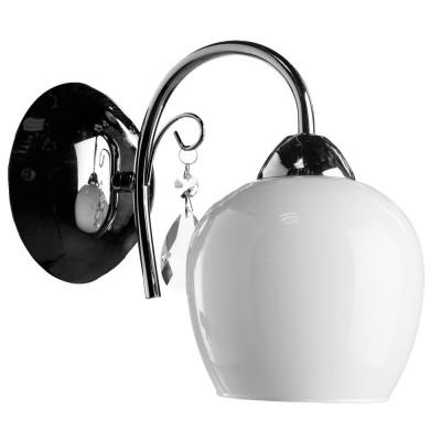 Светильник Arte lamp A9548AP-1CC Milloсовременные бра модерн<br>Светильник Arte lamp A9548AP-1CC Millo сделает Ваш интерьер современным, стильным и запоминающимся! Наиболее функционально и эстетически привлекательно модель будет смотреться в гостиной, зале, холле или другой комнате. А в комплекте с люстрой и торшером из этой же коллекции сделает интерьер по-дизайнерски профессиональным и законченным.
