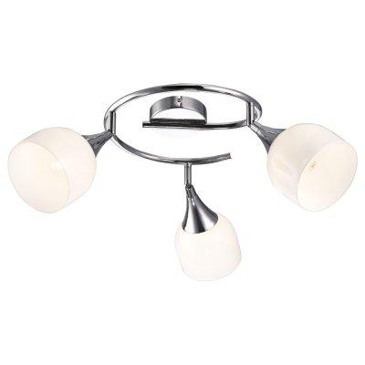 Светильник Arte lamp A9556PL-3CC TrumpetТройные<br>Светильники-споты – это оригинальные изделия с современным дизайном. Они позволяют не ограничивать свою фантазию при выборе освещения для интерьера. Такие модели обеспечивают достаточно качественный свет. Благодаря компактным размерам Вы можете использовать несколько спотов для одного помещения.  Интернет-магазин «Светодом» предлагает необычный светильник-спот ARTE Lamp A9556PL-3CC по привлекательной цене. Эта модель станет отличным дополнением к люстре, выполненной в том же стиле. Перед оформлением заказа изучите характеристики изделия.  Купить светильник-спот ARTE Lamp A9556PL-3CC в нашем онлайн-магазине Вы можете либо с помощью формы на сайте, либо по указанным выше телефонам. Обратите внимание, что у нас склады не только в Москве и Екатеринбурге, но и других городах России.<br><br>S освещ. до, м2: 6<br>Тип лампы: Накаливания / энергосбережения / светодиодная<br>Тип цоколя: E14<br>Цвет арматуры: серебристый<br>Количество ламп: 3<br>Ширина, мм: 120<br>Длина, мм: 670<br>Высота, мм: 160<br>MAX мощность ламп, Вт: 40