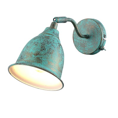 A9557AP-1BG Arte lamp СветильникОдиночные<br><br><br>S освещ. до, м2: 2<br>Тип цоколя: E14<br>Цвет арматуры: СТАРАЯ МЕДЬ<br>Количество ламп: 1<br>Диаметр, мм мм: 140<br>Размеры: H18*W15*L23<br>Длина, мм: 230<br>Высота, мм: 180<br>MAX мощность ламп, Вт: 40W<br>Общая мощность, Вт: 40W