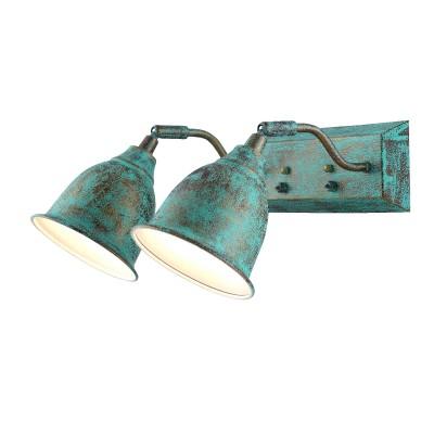 A9557AP-2BG Arte lamp СветильникЛофт<br><br><br>Тип лампы: Накаливания / энергосбережения / светодиодная<br>Тип цоколя: E14<br>Цвет арматуры: СТАРАЯ МЕДЬ<br>Количество ламп: 2<br>Диаметр, мм мм: 230<br>Размеры: H19*W28*L35<br>Длина, мм: 330<br>Высота, мм: 180<br>MAX мощность ламп, Вт: 40W<br>Общая мощность, Вт: 40W