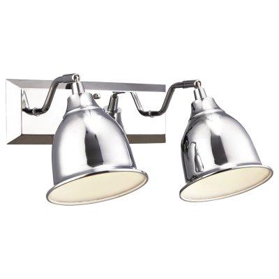 Светильник Arte lamp A9557AP-2CC CampanaДвойные<br>Светильники-споты – это оригинальные изделия с современным дизайном. Они позволяют не ограничивать свою фантазию при выборе освещения для интерьера. Такие модели обеспечивают достаточно качественный свет. Благодаря компактным размерам Вы можете использовать несколько спотов для одного помещения.  Интернет-магазин «Светодом» предлагает необычный светильник-спот ARTE Lamp A9557AP-2CC по привлекательной цене. Эта модель станет отличным дополнением к люстре, выполненной в том же стиле. Перед оформлением заказа изучите характеристики изделия.  Купить светильник-спот ARTE Lamp A9557AP-2CC в нашем онлайн-магазине Вы можете либо с помощью формы на сайте, либо по указанным выше телефонам. Обратите внимание, что у нас склады не только в Москве и Екатеринбурге, но и других городах России.<br><br>S освещ. до, м2: 4<br>Тип лампы: Накаливания / энергосбережения / светодиодная<br>Тип цоколя: E14<br>Цвет арматуры: серебристый<br>Количество ламп: 2<br>Ширина, мм: 230<br>Длина, мм: 340<br>Высота, мм: 180<br>MAX мощность ламп, Вт: 40