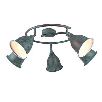 A9557PL-5BG Arte lamp СветильникБолее 5 ламп<br><br><br>S освещ. до, м2: 10<br>Тип цоколя: E14<br>Цвет арматуры: СТАРАЯ МЕДЬ<br>Количество ламп: 5<br>Диаметр, мм мм: 680<br>Размеры: ?68*H23mm<br>Длина, мм: 680<br>Высота, мм: 230<br>MAX мощность ламп, Вт: 40W<br>Общая мощность, Вт: 40W
