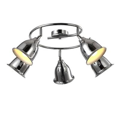 A9557PL-5CC Arte lamp СветильникБолее 5 ламп<br><br><br>S освещ. до, м2: 10<br>Тип лампы: Накаливания / энергосбережения / светодиодная<br>Тип цоколя: E14<br>Цвет арматуры: Серебристый хром<br>Количество ламп: 5<br>Диаметр, мм мм: 680<br>Размеры: ?68*H23mm<br>Длина, мм: 680<br>Высота, мм: 230<br>MAX мощность ламп, Вт: 40W<br>Общая мощность, Вт: 40W