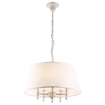 Светильник Arte lamp A9566SP-5WG GRANNYПодвесные<br>Компания «Светодом» предлагает широкий ассортимент люстр от известных производителей. Представленные в нашем каталоге товары выполнены из современных материалов и обладают отличным качеством. Благодаря широкому ассортименту Вы сможете найти у нас люстру под любой интерьер. Мы предлагаем как классические варианты, так и современные модели, отличающиеся лаконичностью и простотой форм.  Стильная люстра Arte lamp A9566SP-5WG станет украшением любого дома. Эта модель от известного производителя не оставит равнодушным ценителей красивых и оригинальных предметов интерьера. Люстра Arte lamp A9566SP-5WG обеспечит равномерное распределение света по всей комнате. При выборе обратите внимание на характеристики, позволяющие приобрести наиболее подходящую модель. Купить понравившуюся люстру по доступной цене Вы можете в интернет-магазине «Светодом».<br><br>Установка на натяжной потолок: Да<br>S освещ. до, м2: 10<br>Крепление: Крюк<br>Тип лампы: Накаливания / энергосбережения / светодиодная<br>Тип цоколя: E14<br>Количество ламп: 5<br>MAX мощность ламп, Вт: 40<br>Диаметр, мм мм: 500<br>Высота, мм: 360<br>Цвет арматуры: белый