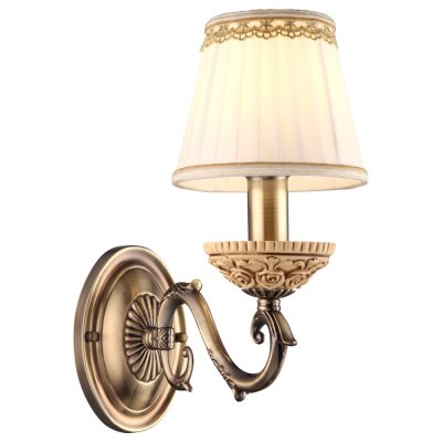 Светильник Arte lamp A9575AP-1AB CherishКлассика<br><br><br>Тип лампы: накаливания / энергосбережения / LED-светодиодная<br>Тип цоколя: E14<br>Количество ламп: 1<br>Ширина, мм: 140<br>MAX мощность ламп, Вт: 40<br>Длина, мм: 270<br>Высота, мм: 290