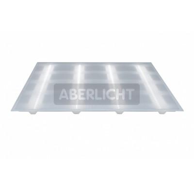 Светодиодный светильник ABERLICHT ACLE-25/120 PR NW, (0149)Cсветодиодные потолочные светильники 600х600<br><br><br>Тип лампы: LED - светодиодная<br>Ширина, мм: 590<br>Длина, мм: 590<br>MAX мощность ламп, Вт: 28