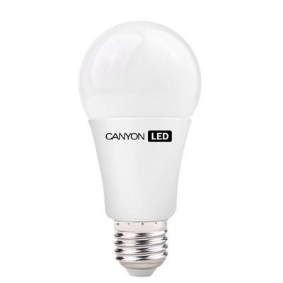 Светодиодная лампа CANYON AE27FR12W230VNСтандартный вид<br>В интернет-магазине «Светодом» можно купить не только люстры и светильники, но и лампочки. В нашем каталоге представлены светодиодные, галогенные, энергосберегающие модели и лампы накаливания. В ассортименте имеются изделия разной мощности, поэтому у нас Вы сможете приобрести все необходимое для освещения.   Лампа Canyon AE27FR12W230VN обеспечит отличное качество освещения. При покупке ознакомьтесь с параметрами в разделе «Характеристики», чтобы не ошибиться в выборе. Там же указано, для каких осветительных приборов Вы можете использовать лампу Canyon AE27FR12W230VNCanyon AE27FR12W230VN.   Для оформления покупки воспользуйтесь «Корзиной». При наличии вопросов Вы можете позвонить нашим менеджерам по одному из контактных номеров. Мы доставляем заказы в Москву, Екатеринбург и другие города России.<br><br>Рекомендуемые колбы ламп: A60<br>Цветовая t, К: 4000<br>Тип лампы: LED - светодиодная<br>Тип цоколя: E27<br>MAX мощность ламп, Вт: 12<br>Диаметр, мм мм: 60<br>Длина, мм: 124<br>Общая мощность, Вт: эквивалент лампы накаливания 77 Ватт