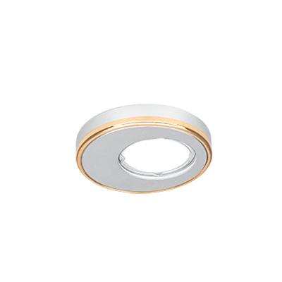 Светильник Gauss Aluminium AL003 Круг. Матовый алюминий/Золото, Gu5.3Круглые<br>Встраиваемые светильники – популярное осветительное оборудование, которое можно использовать в качестве основного источника или в дополнение к люстре. Они позволяют создать нужную атмосферу атмосферу и привнести в интерьер уют и комфорт.   Интернет-магазин «Светодом» предлагает стильный встраиваемый светильник Gauss Aluminium AL003. Данная модель достаточно универсальна, поэтому подойдет практически под любой интерьер. Перед покупкой не забудьте ознакомиться с техническими параметрами, чтобы узнать тип цоколя, площадь освещения и другие важные характеристики.   Приобрести встраиваемый светильник Gauss Aluminium AL003 в нашем онлайн-магазине Вы можете либо с помощью «Корзины», либо по контактным номерам. Мы развозим заказы по Москве, Екатеринбургу и остальным российским городам.<br><br>S освещ. до, м2: 3<br>Тип лампы: галогенная/LED<br>Тип цоколя: GU5.3 (MR16)<br>Количество ламп: 1<br>MAX мощность ламп, Вт: 50<br>Диаметр, мм мм: 90<br>Диаметр врезного отверстия, мм: 60<br>Высота, мм: 40<br>Цвет арматуры: Золотой
