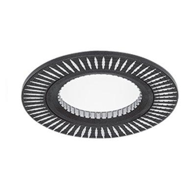 Светильник Gauss Aluminium AL014 Круг. Черный/Хром, Gu5.3Круглые<br>Встраиваемые светильники – популярное осветительное оборудование, которое можно использовать в качестве основного источника или в дополнение к люстре. Они позволяют создать нужную атмосферу атмосферу и привнести в интерьер уют и комфорт.   Интернет-магазин «Светодом» предлагает стильный встраиваемый светильник Gauss Aluminium AL014. Данная модель достаточно универсальна, поэтому подойдет практически под любой интерьер. Перед покупкой не забудьте ознакомиться с техническими параметрами, чтобы узнать тип цоколя, площадь освещения и другие важные характеристики.   Приобрести встраиваемый светильник Gauss Aluminium AL014 в нашем онлайн-магазине Вы можете либо с помощью «Корзины», либо по контактным номерам. Мы развозим заказы по Москве, Екатеринбургу и остальным российским городам.<br><br>S освещ. до, м2: 3<br>Тип лампы: галогенная/LED<br>Тип цоколя: GU5.3 (MR16)<br>Количество ламп: 1<br>MAX мощность ламп, Вт: 50<br>Диаметр, мм мм: 80<br>Диаметр врезного отверстия, мм: 60<br>Высота, мм: 25<br>Цвет арматуры: серебристый