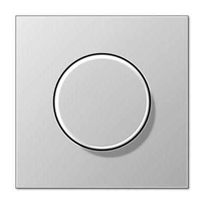 JUNG LS 990 АлюминийНакладка светорегулятора поворотного (AL1940)розетки и выключатели JUNG<br>JUNG LS 990 АлюминийНакладка светорегулятора поворотного (AL1940) является неотъемлемой частью коллекции, важной электротехнической необходимостью в доме и эстетически красивым элементом в концепции всего дизайна помещения. В одной комнате рекомендовано устанавливать розетки и выключатели одного производителя, серии и оттенка для гармоничного сочетания всей электрики.