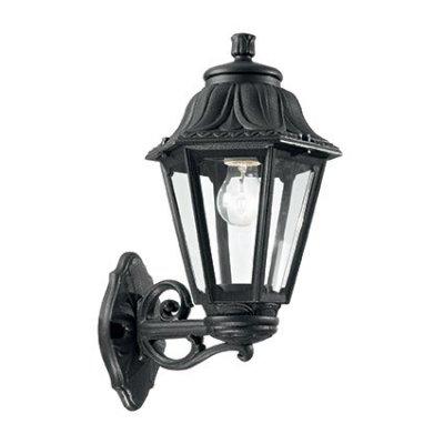 Купить Светильник бра Ideal Lux ANNA AP1 BIG NERO, Италия