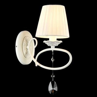 Бра Maytoni ARM001-01-W PassarinhoМодерн<br><br><br>Тип лампы: накаливания / энергосбережения / LED-светодиодная<br>Тип цоколя: E14<br>Количество ламп: 1<br>MAX мощность ламп, Вт: 40<br>Диаметр, мм мм: 140<br>Высота, мм: 370<br>Цвет арматуры: белый