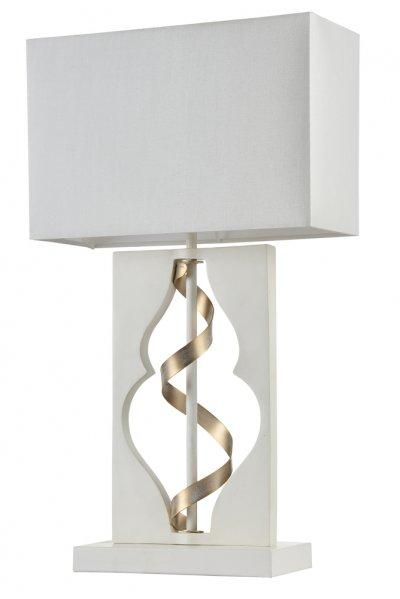 Настольная лампа Maytoni ARM010-11-W IntreccioСовременные<br>Настольная лампа – это не просто источник дополнительного освещения, но и оригинальный элемент декора. Его можно установить в спальне, гостиной, кабинете и других комнатах. Интернет-магазин «Светодом» предлагает настольные лампы разных стилей по доступным ценам. Благодаря большому ассортименту Вы обязательно найдете в нашем каталоге именно ту модель, которую искали. <br> Настольная лампа Maytoni ARM010-11-W – прекрасный вариант для завершения интерьера. Ее можно включить одновременно с люстрой для более яркого освещения или без нее для создания уютной атмосферы, настраивающей на отдых. <br> Купить настольную лампу Maytoni ARM010-11-W Вы можете с помощью виртуальной «Корзины» или по контактным номерам, указанным на сайте.<br><br>Тип цоколя: E27<br>Количество ламп: 1<br>Ширина, мм: 260<br>Глубина, мм: 110<br>Высота, мм: 450<br>MAX мощность ламп, Вт: 40