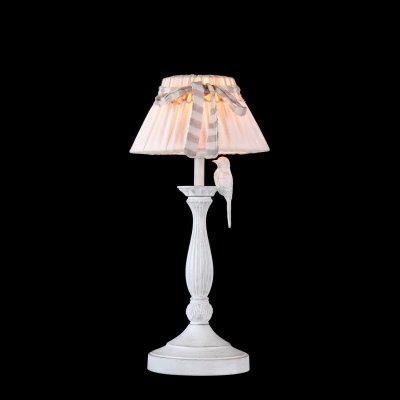 Светильник настольный с птичкой Maytoni ARM013-11-W ARM013Флористика<br>Настольная лампа – это не просто источник дополнительного освещения, но и оригинальный элемент декора. Его можно установить в спальне, гостиной, кабинете и других комнатах. Интернет-магазин «Светодом» предлагает настольные лампы разных стилей по доступным ценам. Благодаря большому ассортименту Вы обязательно найдете в нашем каталоге именно ту модель, которую искали. <br> Настольная лампа Maytoni ARM013-11-W – прекрасный вариант для завершения интерьера. Ее можно включить одновременно с люстрой для более яркого освещения или без нее для создания уютной атмосферы, настраивающей на отдых. <br> Купить настольную лампу Maytoni ARM013-11-W Вы можете с помощью виртуальной «Корзины» или по контактным номерам, указанным на сайте.<br><br>S освещ. до, м2: 2<br>Тип лампы: накаливания / энергосбережения / LED-светодиодная<br>Тип цоколя: E27<br>Количество ламп: 1<br>MAX мощность ламп, Вт: 40<br>Диаметр, мм мм: 220<br>Высота, мм: 460<br>Цвет арматуры: белый