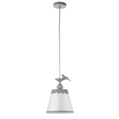 Люстра Maytoni ARM023-PL-01-S BouquetОдиночные<br><br><br>Тип цоколя: E14<br>Цвет арматуры: Серый антик<br>Количество ламп: 1<br>Глубина, мм: 180<br>Оттенок (цвет): Серый антик<br>MAX мощность ламп, Вт: 40