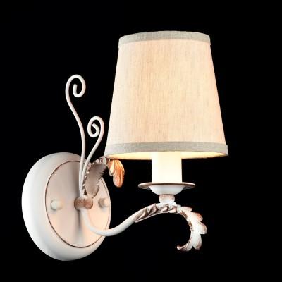 Бра Maytoni ARM026-01-W ClimbФлористика<br><br><br>Тип лампы: накаливания / энергосбережения / LED-светодиодная<br>Тип цоколя: E14<br>Количество ламп: 1<br>MAX мощность ламп, Вт: 40<br>Диаметр, мм мм: 130<br>Высота, мм: 220<br>Цвет арматуры: белый