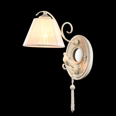 Бра Maytoni ARM031-01-W CellaФлористика<br><br><br>Тип лампы: накаливания / энергосбережения / LED-светодиодная<br>Тип цоколя: E14<br>Количество ламп: 1<br>MAX мощность ламп, Вт: 40<br>Диаметр, мм мм: 180<br>Высота, мм: 450<br>Цвет арматуры: белый