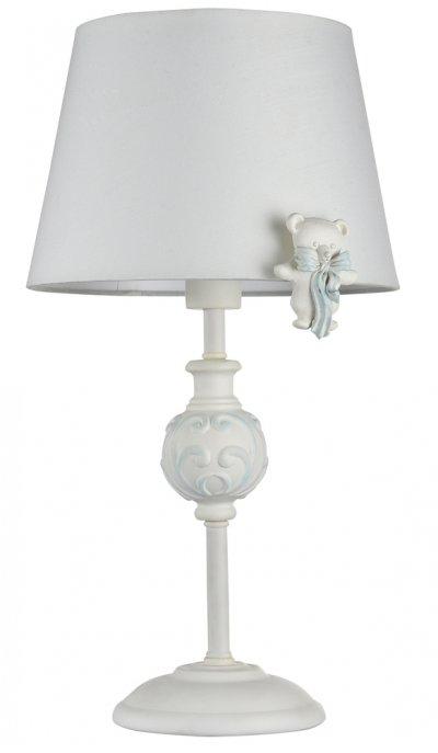 Настольная лампа Maytoni ARM033-11-BL LaurieКлассические<br>Настольная лампа – это не просто источник дополнительного освещения, но и оригинальный элемент декора. Его можно установить в спальне, гостиной, кабинете и других комнатах. Интернет-магазин «Светодом» предлагает настольные лампы разных стилей по доступным ценам. Благодаря большому ассортименту Вы обязательно найдете в нашем каталоге именно ту модель, которую искали.   Настольная лампа Maytoni ARM033-11-BL – прекрасный вариант для завершения интерьера. Ее можно включить одновременно с люстрой для более яркого освещения или без нее для создания уютной атмосферы, настраивающей на отдых.   Купить настольную лампу Maytoni ARM033-11-BL Вы можете с помощью виртуальной «Корзины» или по контактным номерам, указанным на сайте.<br><br>Тип цоколя: E14<br>Количество ламп: 1<br>Диаметр, мм мм: 220<br>Высота, мм: 400<br>MAX мощность ламп, Вт: 40
