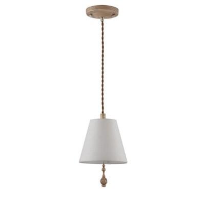 Подвес  Maytoni ARM034-00-R Cipressoодиночные подвесные светильники<br><br><br>Тип лампы: Накаливания / энергосбережения / светодиодная<br>Тип цоколя: E14<br>Цвет арматуры: Дуб антик<br>Количество ламп: 1<br>Диаметр, мм мм: 180<br>Высота, мм: 280<br>Поверхность арматуры: матовая<br>Оттенок (цвет): коричневый<br>MAX мощность ламп, Вт: 40