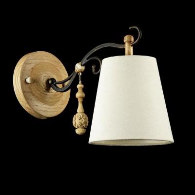 Бра Maytoni ARM034-01-R Cipressoклассические бра<br><br><br>Тип лампы: Накаливания / энергосбережения / светодиодная<br>Тип цоколя: E14<br>Цвет арматуры: Дуб антик<br>Количество ламп: 1<br>Ширина, мм: 140<br>Расстояние от стены, мм: 295<br>Высота, мм: 205<br>Поверхность арматуры: матовая<br>Оттенок (цвет): коричневый<br>MAX мощность ламп, Вт: 40