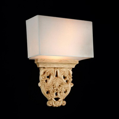 Светильник Maytoni H034-WL-02-RКлассические<br><br><br>Тип лампы: Накаливания / энергосбережения / светодиодная<br>Тип цоколя: E14<br>Цвет арматуры: деревянный<br>Количество ламп: 2<br>Ширина, мм: 280<br>Высота, мм: 410<br>MAX мощность ламп, Вт: 40