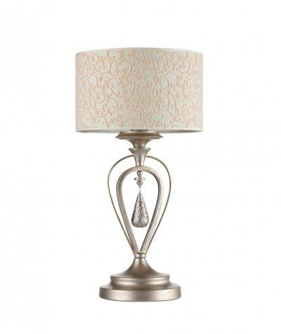Настольная лампа Maytoni ARM044-11-G GerdaКлассические<br>Настольная лампа – это не просто источник дополнительного освещения, но и оригинальный элемент декора. Его можно установить в спальне, гостиной, кабинете и других комнатах. Интернет-магазин «Светодом» предлагает настольные лампы разных стилей по доступным ценам. Благодаря большому ассортименту Вы обязательно найдете в нашем каталоге именно ту модель, которую искали.   Настольная лампа Maytoni ARM044-11-G – прекрасный вариант для завершения интерьера. Ее можно включить одновременно с люстрой для более яркого освещения или без нее для создания уютной атмосферы, настраивающей на отдых.   Купить настольную лампу Maytoni ARM044-11-G Вы можете с помощью виртуальной «Корзины» или по контактным номерам, указанным на сайте.<br><br>Тип цоколя: E14<br>Количество ламп: 1<br>Ширина, мм: 245<br>MAX мощность ламп, Вт: 40<br>Глубина, мм: 200<br>Высота, мм: 460