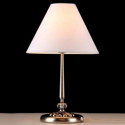 Светильник настольный Maytoni RC095-TL-01-N Classic SoffiaКлассические настольные лампы<br>При желании украсить свой кабинет дополнительным элементом следует обратить внимание на настольную лампу Maytoni Classic 13 RC095-TL-01-N. Выполненная в стиле ампир, она изящно впишется в любой интерьер. На фото видно основание, патинированное в цвет темного старого никеля, которое очень гармонично сочетается с абажуром, обтянутым белой тканью. Для работы конструкции следует купить одну лампочку на 60 Ватт, так как она не входит в стоимость товара. Высота лампы Maytoni составляет 470 миллиметров. Чтобы<br><br>S освещ. до, м2: 4<br>Тип лампы: накаливания / энергосбережения / LED-светодиодная<br>Тип цоколя: E27<br>Цвет арматуры: серый<br>Количество ламп: 1<br>Диаметр, мм мм: 300<br>Высота, мм: 470<br>MAX мощность ламп, Вт: 60