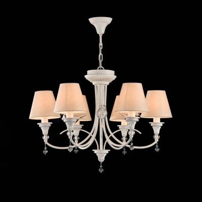 Люстра Maytoni ARM139-06-W TorinoПодвесные<br><br><br>S освещ. до, м2: 12<br>Тип лампы: Накаливания / энергосбережения / светодиодная<br>Тип цоколя: E14<br>Цвет арматуры: Белый<br>Количество ламп: 6<br>Диаметр, мм мм: 690<br>Высота, мм: 480 - 1480<br>MAX мощность ламп, Вт: 40