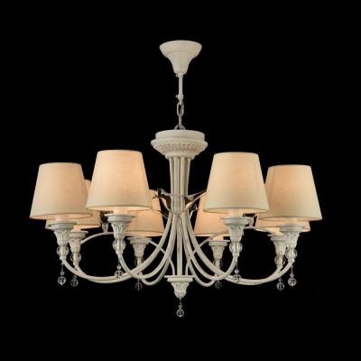 Люстра Maytoni ARM139-08-W TorinoПодвесные<br><br><br>S освещ. до, м2: 16<br>Тип лампы: Накаливания / энергосбережения / светодиодная<br>Тип цоколя: E14<br>Цвет арматуры: Белый<br>Количество ламп: 8<br>Диаметр, мм мм: 790<br>Высота, мм: 480 - 1480<br>MAX мощность ламп, Вт: 40