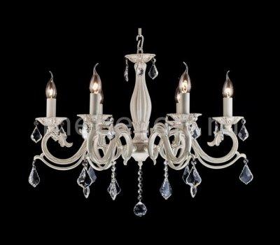 Люстра со свечами Maytoni ARM245-06-W Bronze 4Подвесные<br>Представленная на фотографии подвесная люстра Maytoni Bronze ARM245-06-W имеет внушительные размеры и мощность, благодаря чему применять её имеет смысл для освещения просторного помещения. Компания Maytoni, оснастила подвесную люстру шестью декоративными лампами, которые удерживает изящно выполненная арматура цвета кремового золота. При невысокой цене люстра фирмы Майтони украшена многочисленными хрустальными подвесками. Купить светильник стоит также за высокое качество сборки и применяемых в её изготовлении материалов, что не повлияло на стоимость предлагаемого товара.<br><br>Установка на натяжной потолок: Да<br>S освещ. до, м2: 24<br>Крепление: Крюк<br>Тип товара: Люстра<br>Тип лампы: накаливания / энергосбережения / LED-светодиодная<br>Тип цоколя: E14<br>Количество ламп: 6<br>MAX мощность ламп, Вт: 60<br>Диаметр, мм мм: 670<br>Длина цепи/провода, мм: 600<br>Высота, мм: 530<br>Цвет арматуры: золотой