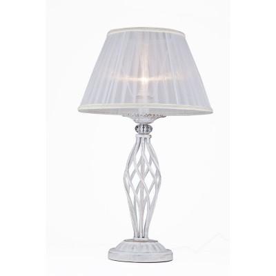 Светильник Maytoni ARM247-00-G Elegant 3Современные<br>Декоративная настольная лампа от немецкой компании Maytoni невероятно красива и элегантна. Предлагаем внимательно рассмотреть фото изделия. Конструкция декоративной настольной лампы Maytoni Elegant ARM247-00-G состоит из светло-белого плафона, выполненного по типу торшерного абажура, и из резной фигурной ножки из металла цвета кремовое золото. Плафон обтянут светло-белой прозрачной тканью. Проходящий сквозь него световой поток получается матовым, уютным и приятным для глаз. Дополнительное изящество создают легкие гофры на текстиле. Цена этой лампы от Майтони соответствует красивому дизайну и надежному качеству. Спешите купить столь очаровательное устройство по престижной стоимости.<br><br>S освещ. до, м2: 4<br>Тип лампы: накаливания / энергосбережения / LED-светодиодная<br>Тип цоколя: E14<br>Количество ламп: 1<br>MAX мощность ламп, Вт: 60<br>Диаметр, мм мм: 320<br>Высота, мм: 560<br>Цвет арматуры: золотой
