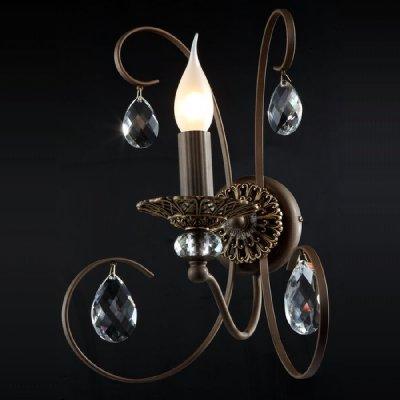 Светильник Maytoni ARM280-01-R Elegant 10Современные<br>Пожелав<br><br>S освещ. до, м2: 4<br>Тип лампы: накаливания / энергосбережения / LED-светодиодная<br>Тип цоколя: E14<br>Цвет арматуры: коричневый<br>Количество ламп: 1<br>Ширина, мм: 310<br>Высота, мм: 250<br>MAX мощность ламп, Вт: 60
