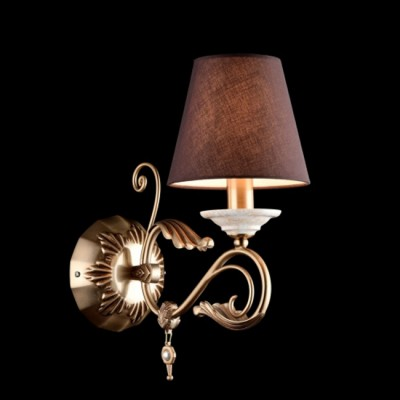 Светильник бра Maytoni RC332-WL-01-R FrancescoКлассические<br><br><br>Тип цоколя: E14<br>Количество ламп: 1<br>Ширина, мм: 150<br>Глубина, мм: 290<br>Высота, мм: 340<br>MAX мощность ламп, Вт: 40