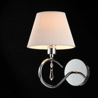 Светильник Maytoni MOD334-WL-01-N Taliaклассические бра<br><br><br>S освещ. до, м2: 2<br>Тип лампы: накаливания / энергосбережения / LED-светодиодная<br>Тип цоколя: E14<br>Цвет арматуры: серый<br>Количество ламп: 1<br>Ширина, мм: 120<br>Расстояние от стены, мм: 150<br>Высота, мм: 250<br>MAX мощность ламп, Вт: 40