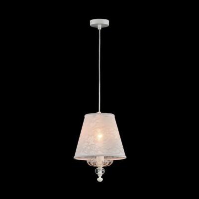 Подвес  Maytoni ARM392-22-W AngelОдиночные<br><br><br>Тип лампы: Накаливания / энергосбережения / светодиодная<br>Тип цоколя: E14<br>Цвет арматуры: Кремовое золотой<br>Количество ламп: 1<br>Диаметр, мм мм: 220<br>Высота, мм: 290<br>MAX мощность ламп, Вт: 40