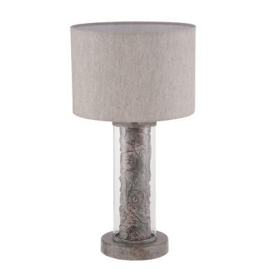 Настольная лампа Maytoni ARM526TL-01GR MarylandКлассические настольные лампы<br><br><br>Тип лампы: Накаливания / энергосбережения / светодиодная<br>Тип цоколя: E27<br>Цвет арматуры: Серый<br>Количество ламп: 1<br>Диаметр, мм мм: 250<br>Высота, мм: 450<br>Поверхность арматуры: матовая<br>Оттенок (цвет): серый<br>MAX мощность ламп, Вт: 40