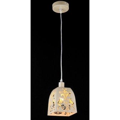 Светильник Maytoni ARM610-00-W Elegant 51Одиночные<br><br><br>S освещ. до, м2: 2<br>Крепление: планка<br>Тип товара: Люстра<br>Тип лампы: накаливания / энергосбережения / LED-светодиодная<br>Тип цоколя: E14<br>Количество ламп: 1<br>Ширина, мм: 130<br>MAX мощность ламп, Вт: 40<br>Длина, мм: 130<br>Высота, мм: 140<br>Цвет арматуры: бежевый