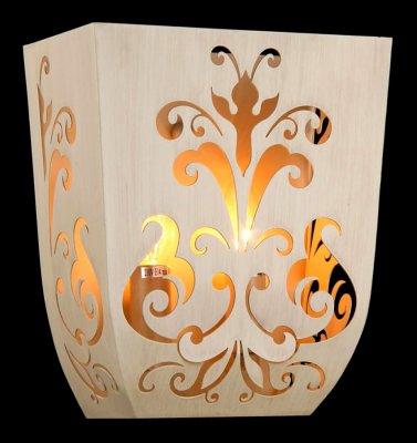 Светильник Maytoni ARM610-02-W Elegant 51Рустика<br><br><br>S освещ. до, м2: 5<br>Тип товара: Светильник настенный бра<br>Скидка, %: 30<br>Тип лампы: накаливания / энергосбережения / LED-светодиодная<br>Тип цоколя: E14<br>Количество ламп: 2<br>Ширина, мм: 140<br>MAX мощность ламп, Вт: 40<br>Длина, мм: 240<br>Расстояние от стены, мм: 140<br>Высота, мм: 280<br>Цвет арматуры: бежевый